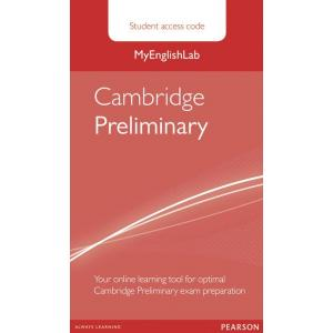Cambridge Preliminary. MyEnglishLab Student's Access Code Card