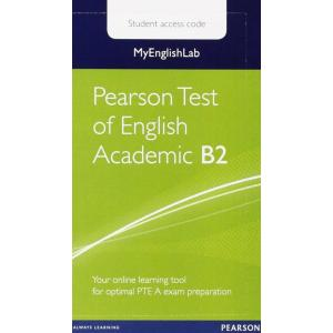 Pearson Test of English Academic B2. MyEnglishLab Student's Access Code