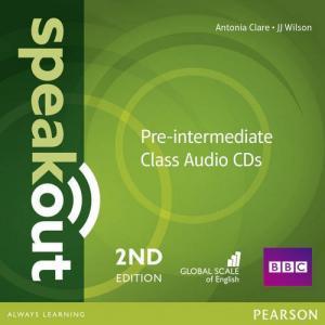 Speakout 2ed Pre-Intermediate. Class CD do Podręcznika