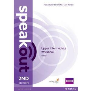 Speakout 2Ed Upper-Intermediate. Ćwiczenia z Kluczem