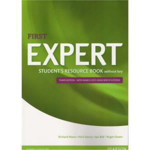First Expert 3ed Student's Resource Book without key