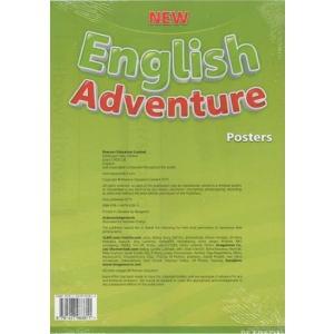 New English Adventure 2. Plakaty Do Podręcznika Wieloletniego
