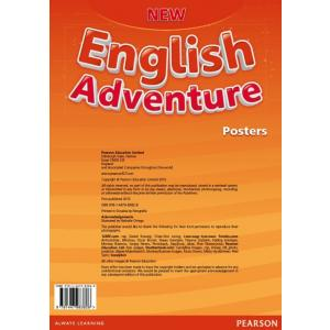New English Adventure 3. Zestaw Plakatów do Podrecznika Wieloletniego
