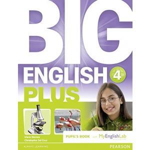 Big English Plus 4 PB/MEL