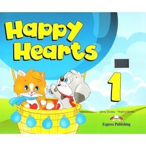 Happy Hearts. Część 1. Podręcznik + CD + DVD