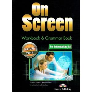 On Screen Pre-Intermediate (B1). Matura Workbook + Grammar Book