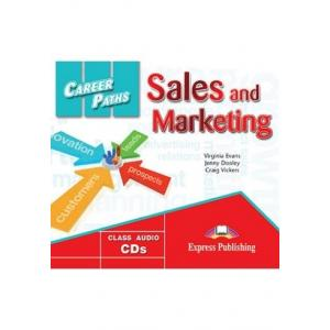 Career Paths. Sales and Marketing. Class Audio CD