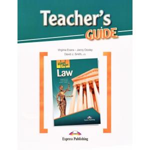 Law. Career Paths. Teacher's Guide