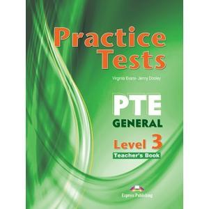 PTE General Level 3 Practice Tests. Teacher's Book + kod DigiBook