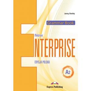 New Enterprise A2 (Edycja Polska). Grammar Book  + Kod DigiBook
