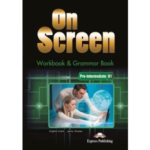 On Screen Pre-Intermediate (B1). Workbook + Grammar Book + Kod DigiBook. Edycja Polska
