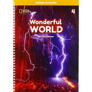 Wonderful World 4 Lesson Planner 2nd ed