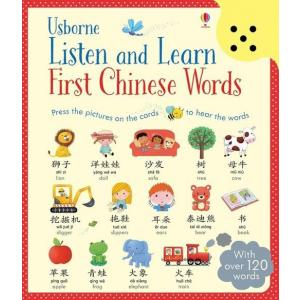 Listen and Learn First Chinese Words /Pierwsze Słówka Chińskie + Audio/