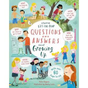Lift-the-flap. Questions and Answers about Growing Up