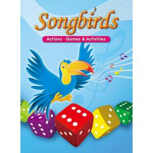 Songbirds Activity Book - Action Games Activities