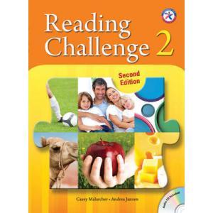 Reading Challenge 2. Podręcznik z Ćwiczeniami + CD