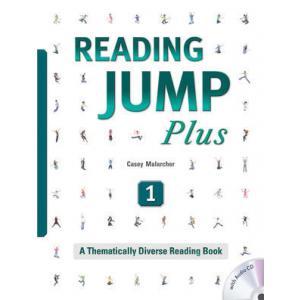 Reading Jump Plus 1. Podręcznik z Ćwiczeniami + CD