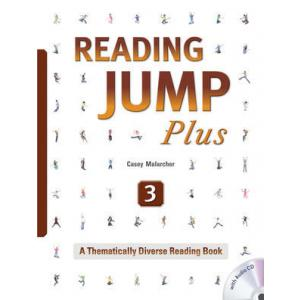 Reading Jump Plus 3. Podręcznik z Ćwiczeniami + CD