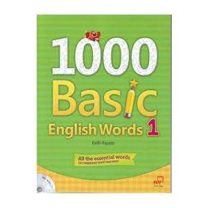 1000 Basic English Words 1. Podręcznik + Ćwiczenia + CD