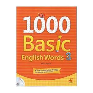 1000 Basic English Words 3. Podręcznik + Ćwiczenia + CD