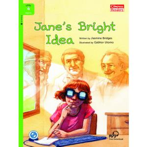 Jane's Bright Idea książka + MP3 online Level 4 Beginer