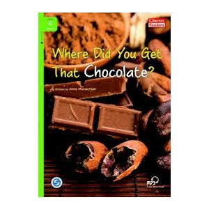 Where Did You Get That Chocolate + MP3 Online. Compass Readers. Poziom 4 Beginer