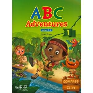 ABC Adventures 1. Podręcznik + Ćwiczenia + CD-ROM Letters A-L