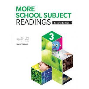 More School Subject Reading 3. Podręcznik z Ćwiczeniami + CD-ROM
