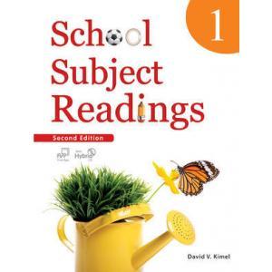 School Subject Reading 1. Podręcznik z Ćwiczeniami + CD-ROM