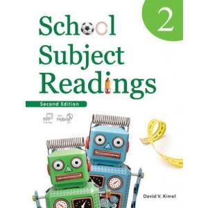 School Subject Reading 2. Podręcznik z Ćwiczeniami + CD-ROM