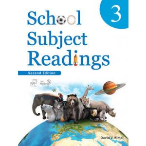School Subject Reading 3. Podręcznik z Ćwiczeniami + CD-ROM