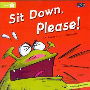 LA Sit Down, Please! książka + Mp3 online Level 1