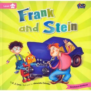 LA Frank and Stein książka + Mp3 online Level 2