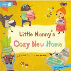 LA Little Nanny's Cozy New Home książka + Mp3 online Level 3