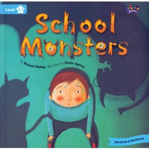 LA School Monsters książka + Mp3 online Level 3
