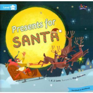 LA Presents for Santa książka + Mp3 online Level 3