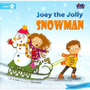 LA Joey the Jolly Snowman książka + Mp3 online Level 3