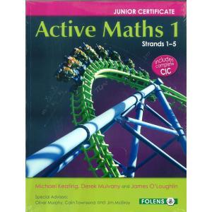 Active Maths 1 Strand 1-5 Set (2015+)