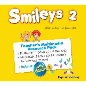 Smileys 2. Teacher's Multimedia Resource Pack (CD + DVD + Resource Pack CD-ROM)