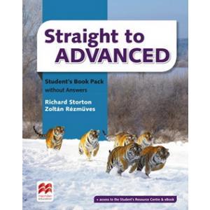 Straight to Advanced. Podręcznik bez Klucza + Kod Online