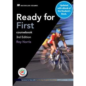 Ready for First 3Ed. Podręcznik (bez Klucza) z Kodem do Ćwiczeń Online + eBook