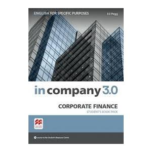 In Company 3.0 ESP. Corporate Finance. Podręcznik + Kod Online