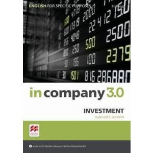 In Company 3.0 ESP. Investment. Książka Nauczyciela + Kod Online