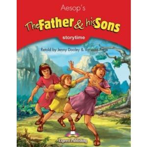 EP Storytime Readers: Father & His Sons SB + CD OOP