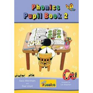 Jolly Phonics Pupil Book 2 (colour edition): in Precursive Letters (BE)