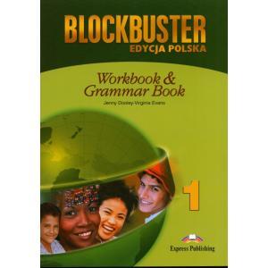 Blockbuster 1. Ćwiczenia + Grammar (Edycja Polska)