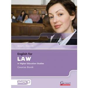English for Law in Higher Education Studies + CD