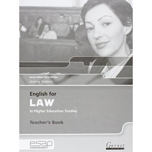 English for Law in Higher Education Studies. Książka Nauczyciela