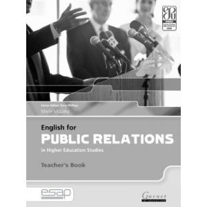 English for Public Relations in Higher Education Studies. Książka Nauczyciela