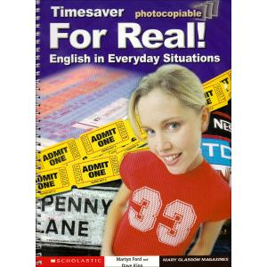 Timesaver: For Real! English in Everyday Situations + CD